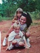 Hope, Mindy, & Chase at the lake