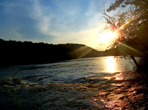 Broad River Sunset