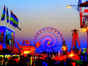 Weekly Photo Challenge~ Saturated at the County Fair