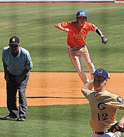 baseball chase running
