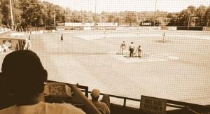 Baseball Culture sepia