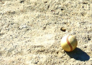 Baseball in the Sand