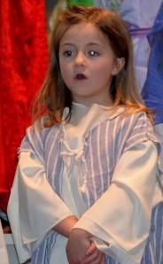 little shepherd singing