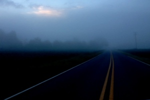 This moment in time fog