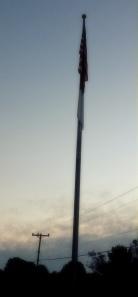 furled flag