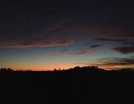 sunset Monday