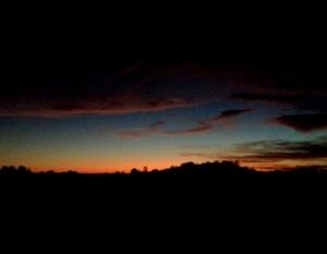 sunset Monday1