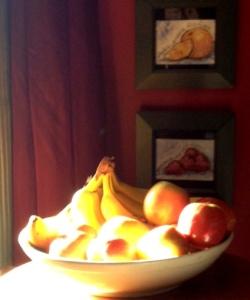 Fruit - morning light
