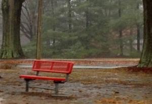 Rainy December afternoon