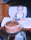 First Birthday (Zac)