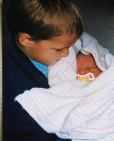 Austin meets his little sister