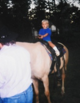 First time on horse