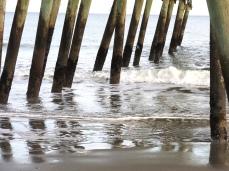 waves break